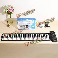 Konix кремния гибкие 61 клавиш электрические закатать фортепиано pu61s