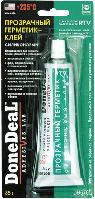 Герметик силиконовый для стекол прозрачный DoneDeal DD6705 85г
