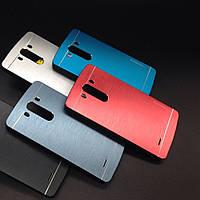 Бампер для LG Optimus G3 - Motomo Line Series, (разные цвета)