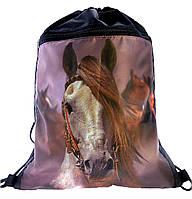 """Сумка для сменки  """"Лошадь """"  1-7836"""