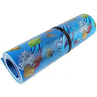 Каремат, коврик для туризма, отдыха Decor Океан