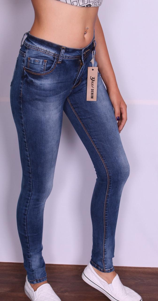 Женские джинсы с высокой посадкой Yuzi Denim (Код: 214)25-30 размеры.Хит продаж.