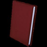 Ежедневник недатированный BUROMAX BASE(Miradur), A5, 320стр. бордовый, BM.2008-13