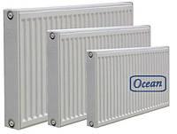 Стальной радиатор Ocean РККР тип 22  500х500 бок.