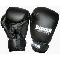 Перчатки боксерские, для бокса, 6 оz, кожвинил