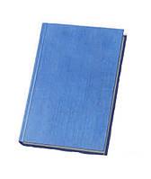 Ежедневник недатированный ECONOMIX А5 ТЕКСТИЛЬ, синий, E22001-02