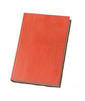 Ежедневник недатированный ECONOMIX А5 ТЕКСТИЛЬ, красный, E22001-03