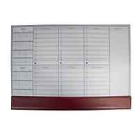 Настольный недельный планинг PANTA PLAST 2016-2017 гг, 30л., PVC (470x335мм), коричневый, 0318-0005-11
