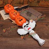 Хэллоуин хоррор игрушка палочка волшебная тыква лампы со звуковым эффектом
