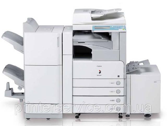Черно-белое лазерное  МФУ Canon iR3235N, принтер, сканер, копир формата А3
