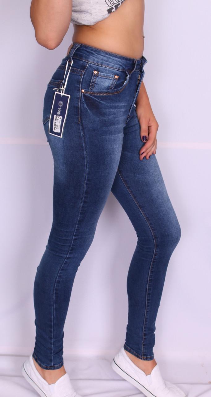 Женские джинсы с высокой посадкой Vis Donna (25 размер )