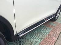 Nissan X-trail T32 2014+ гг. Боковые площадки OEM V1