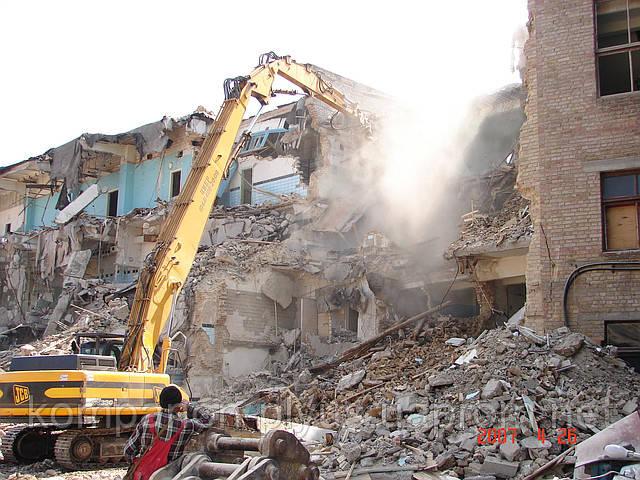 Снос зданий Киев Демонтаж домов (044) 466- 59- 42