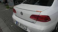 Volkswagen Passat B7 2012-2015 гг. Спойлер (под покраску)