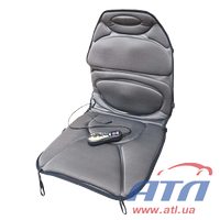 Накидка на сидения LAVITA вибромассажная с подогревом (двухсторонняя) LA 140411 B/G