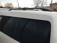 Volkswagen Caddy 2015+ гг. Рейлинги черные Станд. база, Пластиковые ножки