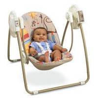 Детская качель для новорожденного Fisher Price