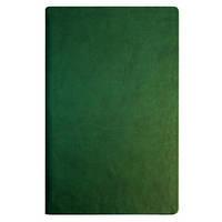 Деловая записная книжка Optima Vivella, А5, мягкая нелинованная зеленая обложка, O20810-04