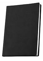 Деловая записная книжка Optima Vivella, А6, мягкая черная обложка, O20383-01
