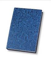 Деловая записная книжка Optima Lady, А5, твердая нелинованная голубая обложка, O25263-11
