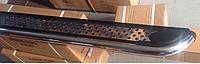 Fiat 500X Боковые площадки Maydos V2 (2 шт., алюминий + нерж)