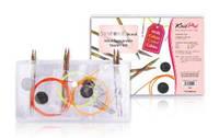 50616 Набор съемных акриловых спиц для начинающих Multi-Colored Spectra Flair Acrylic KnitPro
