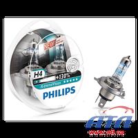Лампа 12342XV+S2 H4 60/55W 12V P43t-38 X-TREME VISION +130% PACK x2