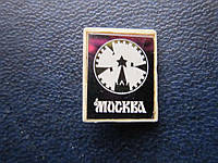 Значок Москва герб стекло трещина