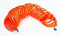 "Шланг спиральный полиуретан. 1/4""*1/4"", 5м."