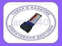 Expresscard адаптер на 2 firewire IEEE 1394 порта
