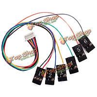 Cc3D перелет контроллер 8pin соединение жгут receiverport