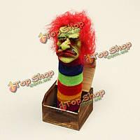 Хэллоуин деревянный ящик ужас трюк шутка электрический голосовой активации игрушка