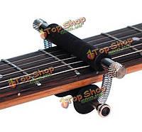 Гитара капо раздвижные музыкальные инструменты черный