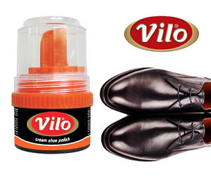 Крем для обуви Vilo 50 мл черный