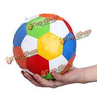 Цветные мягкие играть в мяч губка мяч футбол мягкая крытый футбольный мяч