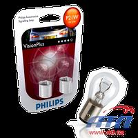 Лампа 12499VPB2 P21/5W 12V VISION PLUS +60% x2шт.