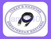 MiniUSB дата кабель 1.8м для телефонов MP3 MP4 PSP