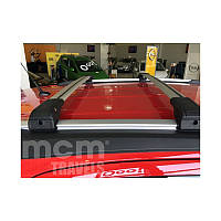 Toyota Fortuner 2006+ гг. Поперечный багажник на интегрированые рейлинги под ключ (2 шт)