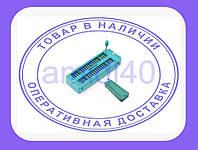 ZIF панель 40 pin с нулевым усилием, DIP корпус, B