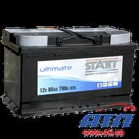 Аккумулятор 6CT-60 А (0) AGM Start Ultimate, правый +, 560А