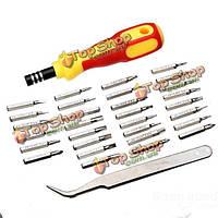 32в1 многофункциональная отвертка инструмента комплект
