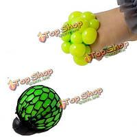 4шт вент виноградных мяч снятия стресса сжать игрушку