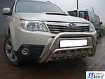 Subaru Forester 2008-2013 гг. Кенгурятник WT002 (нерж.)