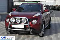 Nissan Juke 2010+ гг. Кенгурятник WT018 (нерж)