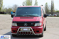 Mercedes Vito W638 1996-2003 гг. Кенгурятник с усами WT002 Plus (нерж.)