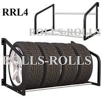Стеллаж-витрина для хранения колес или шин RRL 4