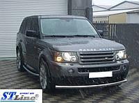 Range Rover Sport 2005-2013 гг. Передняя дуга ST008 (нерж.)