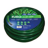 Шланг садовый Tecnotubi для полива Euro Guip Green диаметр 1 дюйм Длина 25 м. (EGG 1 25)