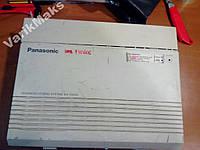 Мини-АТС Panasonic KX-TA616 с тремя модулями