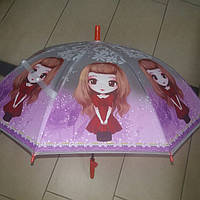 Зонт детский силиконовый Девочка